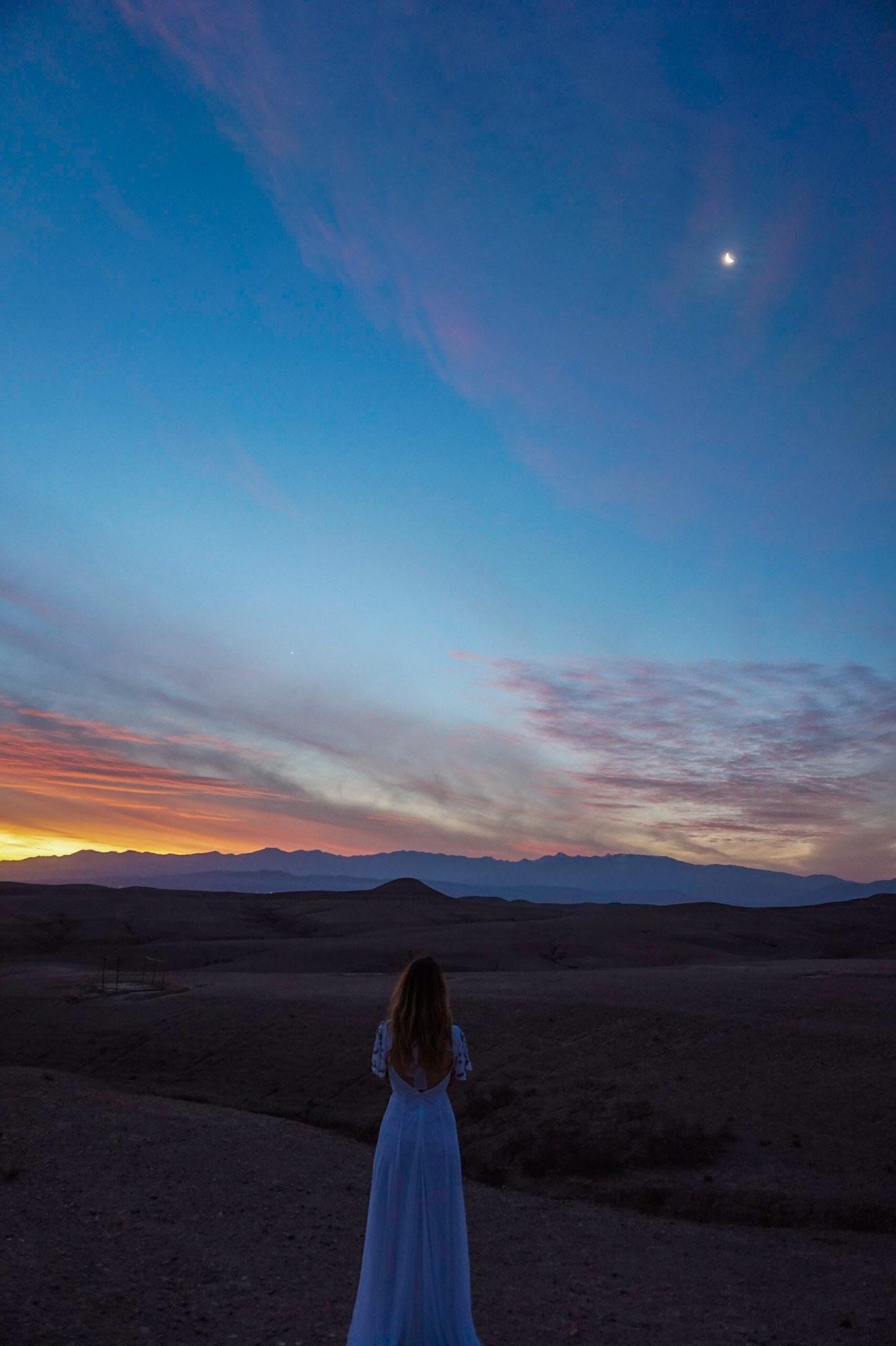 Glamping dans le désert