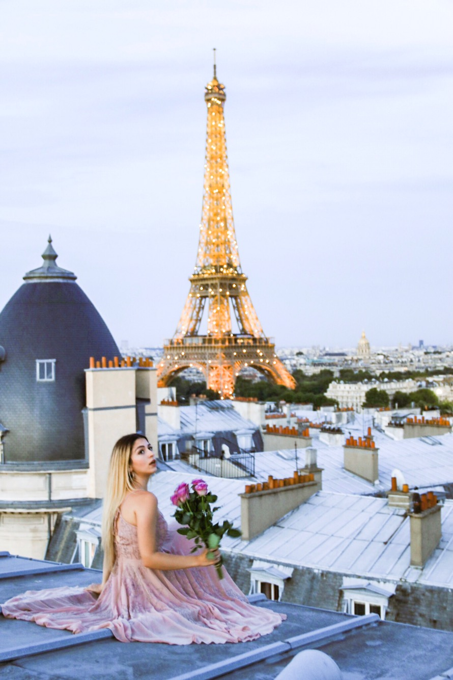 Paris vu des toits