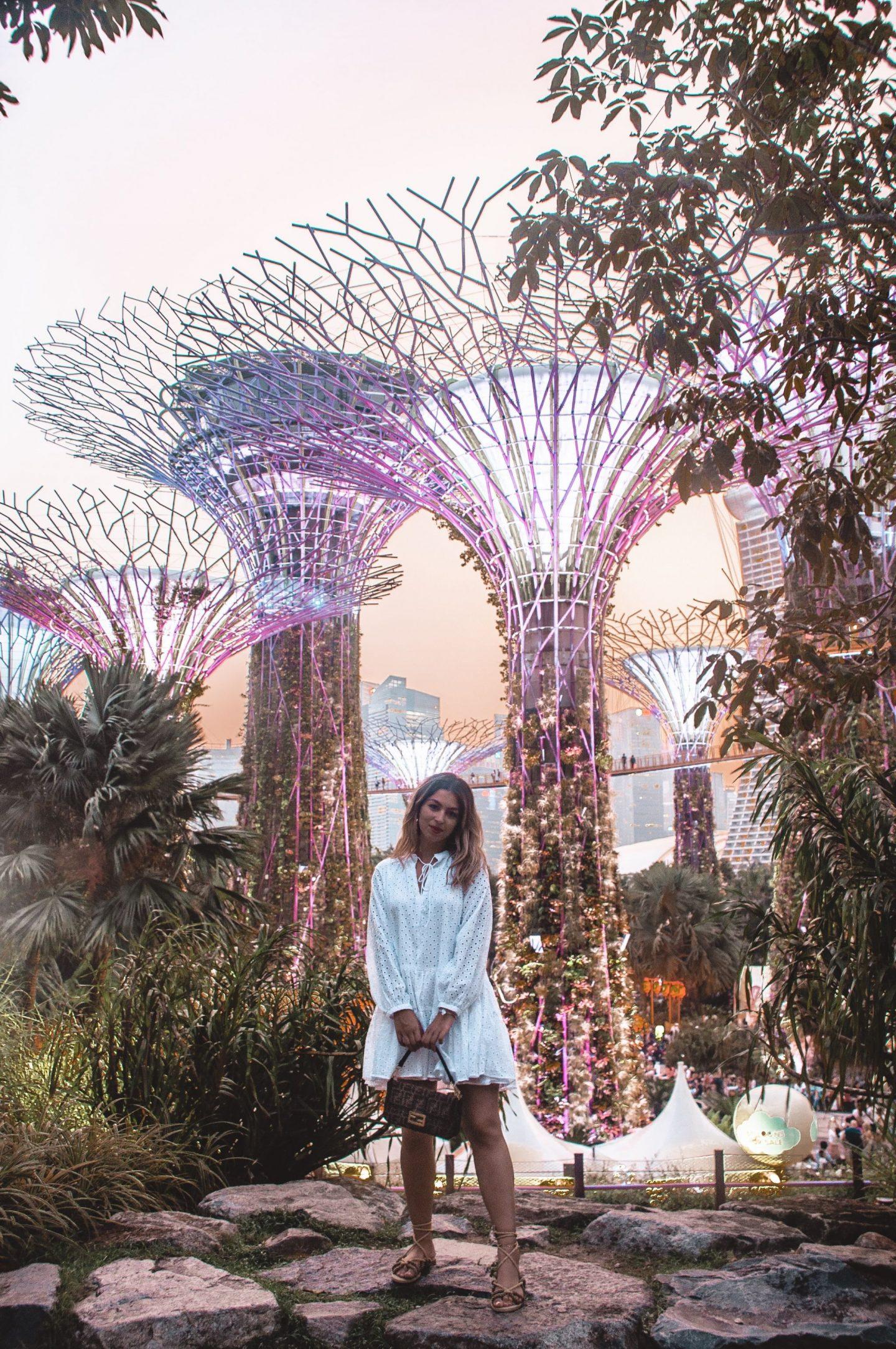 Escale à Singapour